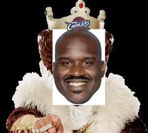 Shaq Cavs King