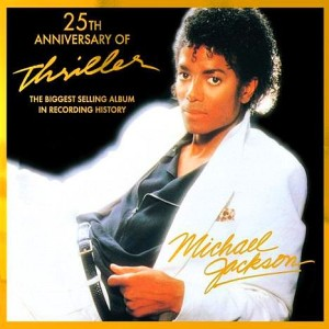 Michael Jackson Thriller Album Cover 25th Anniversary