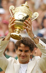 Federer Wins Wimbledon