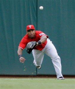 Rays Rangers Baseball