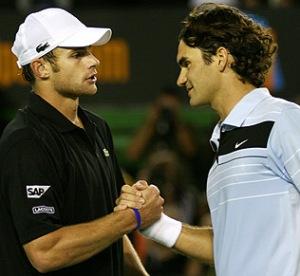 Roddick Federer