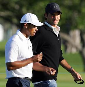 Roger Federer Tiger Woods